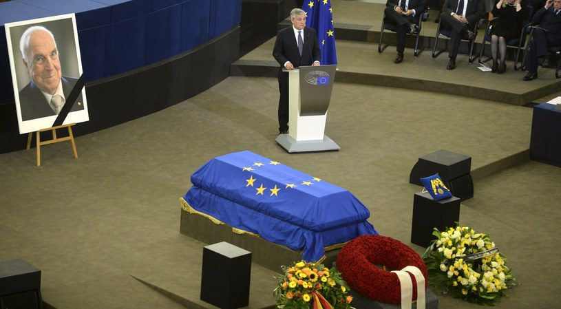 Uroczystości pogrzebowe Helmuta Kohla /Patrick Seeger  /PAP/EPA
