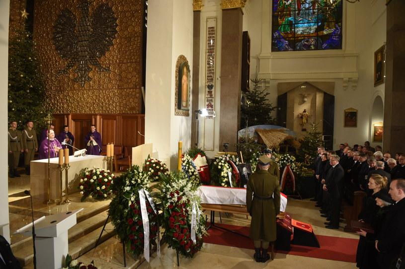 Uroczystości pogrzebowe Józefa Oleksego w Katedrze Polowej Wojska Polskiego /PAP