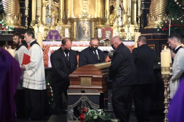 Uroczystości pogrzebowe kard. Mariana Jaworskiego //Łukasz Gągulski /PAP