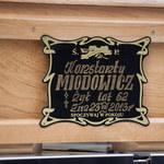 Uroczystości pogrzebowe Konstantego Miodowicza