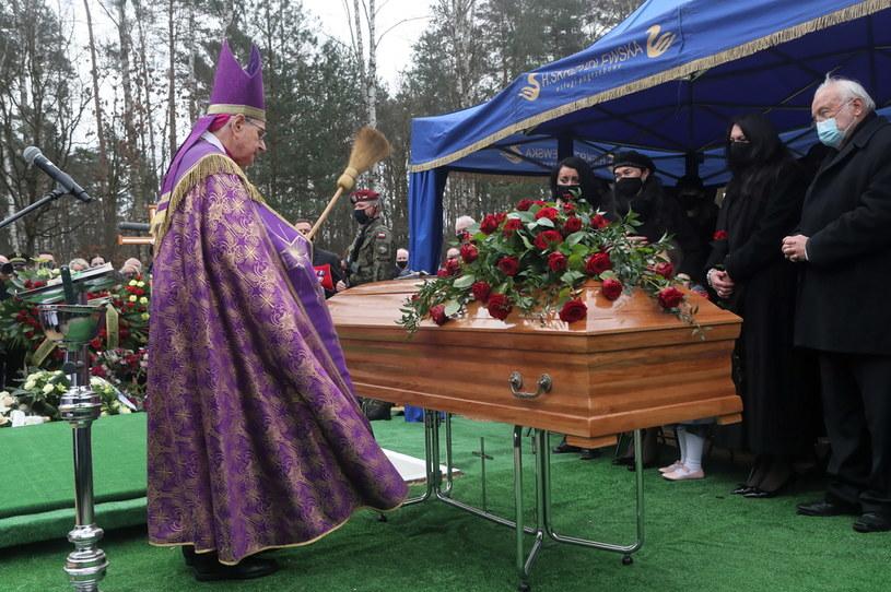 Uroczystości pogrzebowe Krzysztofa Krawczyka /Roman Zawistowski /PAP