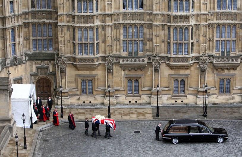 Uroczystości pogrzebowe Margaret Thatcher /AFP