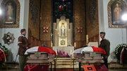 Uroczystości pogrzebowe oficerów, którzy uratowali złoto Banku Polskiego