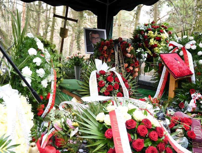 Uroczystości pogrzebowe Piotra Świąca /Piotr Hukalo /East News