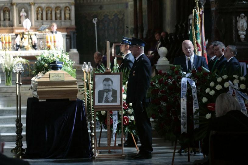 Uroczystości pogrzebowe starosty /Adam Jankowski /East News