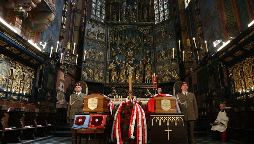 Uroczystości pogrzebowe w Bazylice Mariackiej