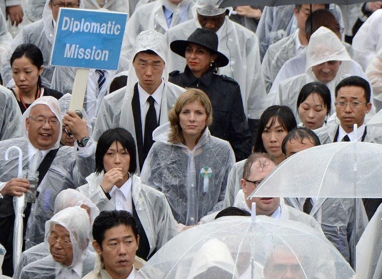 Uroczystości w Hiroszimie /AFP