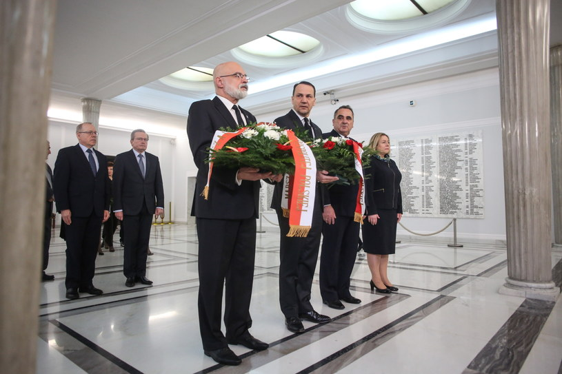Uroczystości w Sejmie /Leszek Szymański /PAP