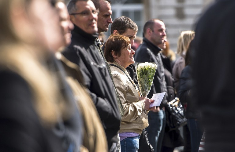 Uroczystości żałobne /AFP