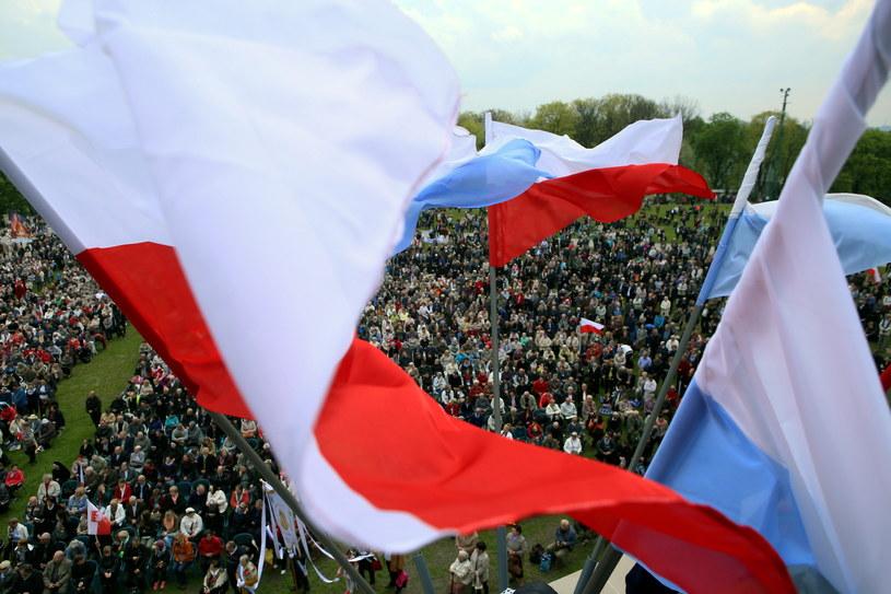 Uroczystości zgromadziły około 30 tys. wiernych /Waldemar Deska /PAP