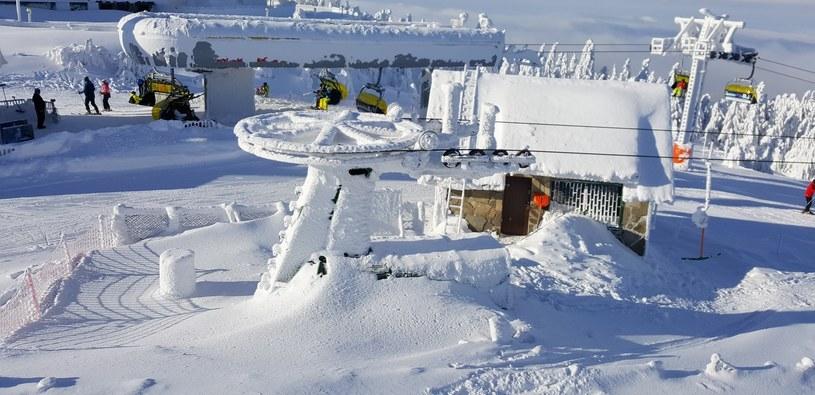 Uroki zimy w Beskidzie Śląskim (11.01.2019) /ANDRZEJ ZBRANIECKI /East News