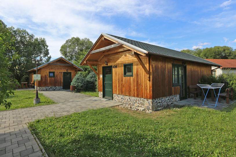 Urokliwe domki w Holiday Village Tatralandia /Tatralandia/TMR a.s. /materiały prasowe