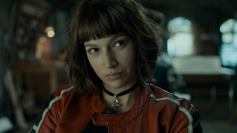 Úrsula Corberó jako Tokio /Netflix /materiały prasowe