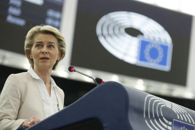Ursula von der Leyen jest jedną z kluczowych postaci w UE /JEAN-FRANCOIS BADIAS / POOL /PAP/EPA