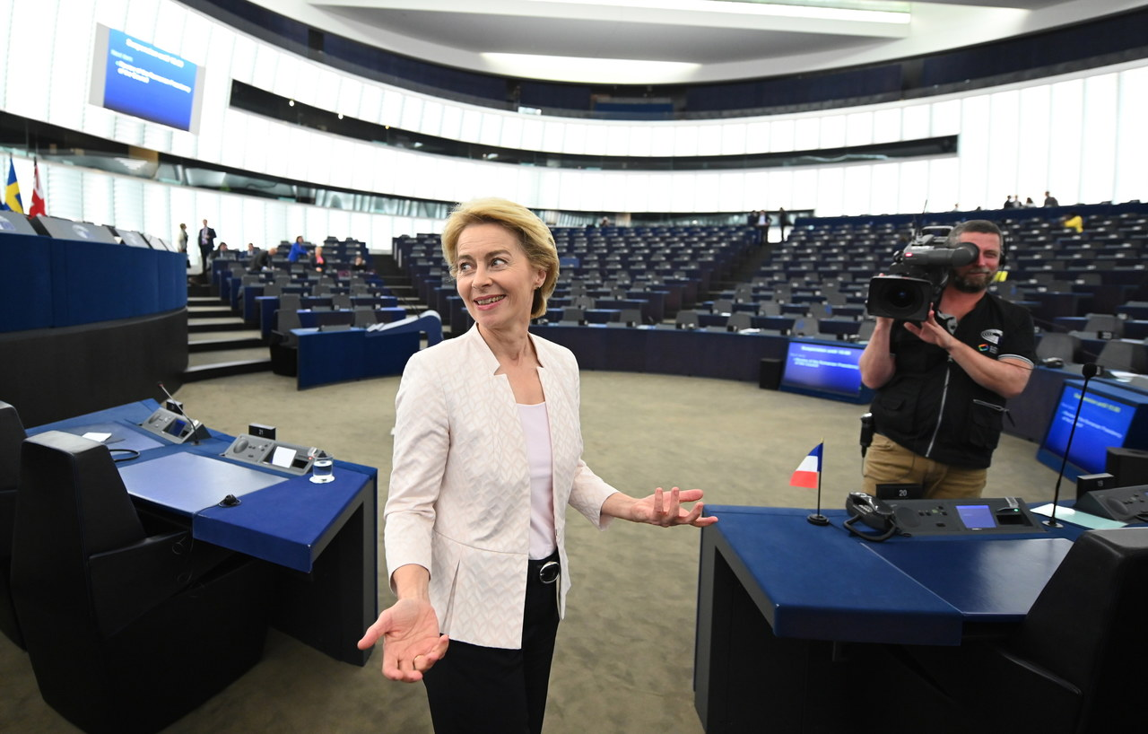 Ursula von der Leyen nową przewodniczącą Komisji Europejskiej