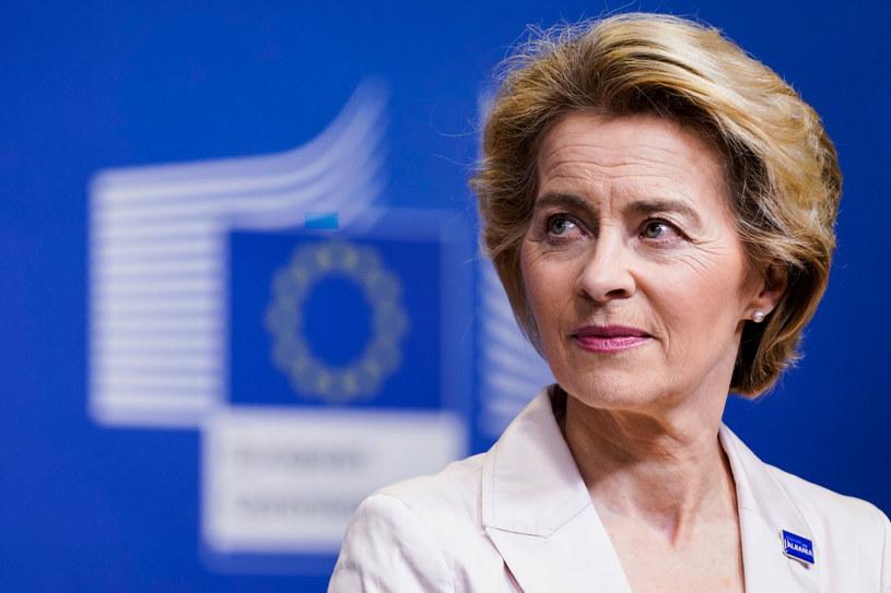 Ursula von der Leyen, przewodnicząca KE /KENZO TRIBOUILLARD/AFP /East News
