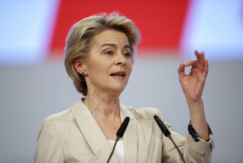 Ursula von der Leyen, przewodnicząca KE /AFP