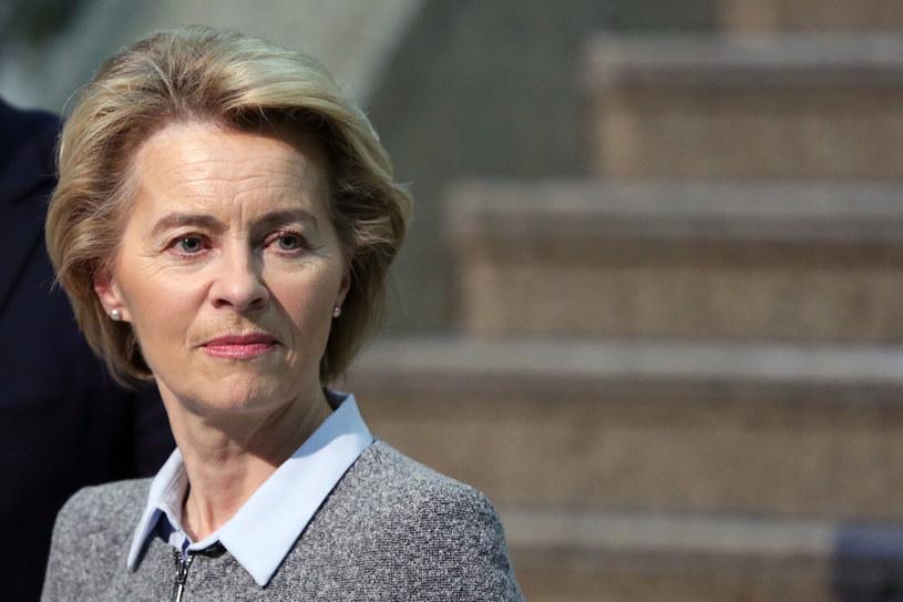 Ursula von der Leyen, przewodnicząca Komisji Europejskiej. /123RF/PICSEL