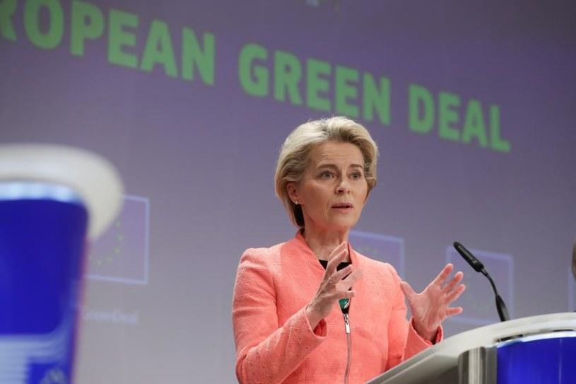 Ursula von der Leyen, przewodnicząca Komisji Europejskiej /Serwis Audiowizualny Komisji Europejskiej