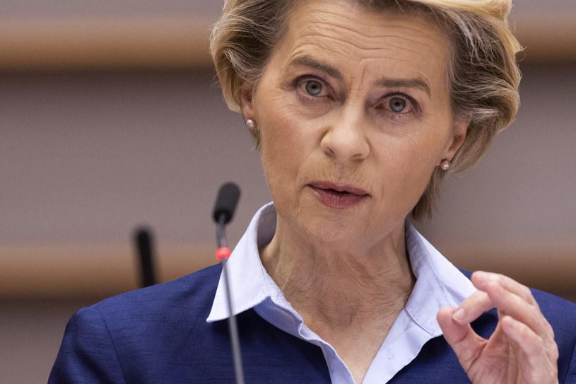 Ursula von der Leyen, szefowa KE /JOHN THYS/AFP/ /AFP