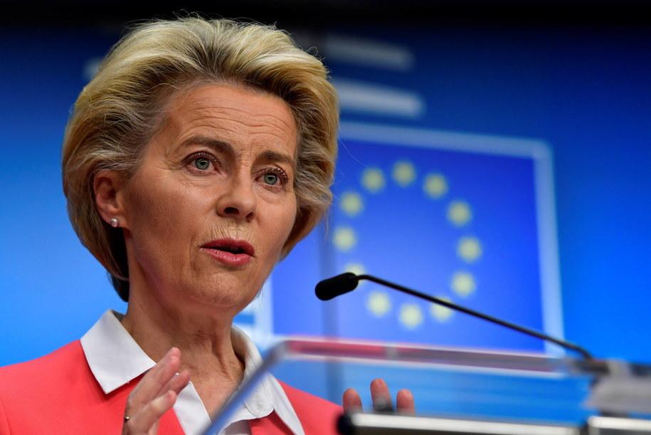 Ursula von der Leyen, szefowa Komisji Europejskiej /JOHN THYS/POOL /PAP/EPA