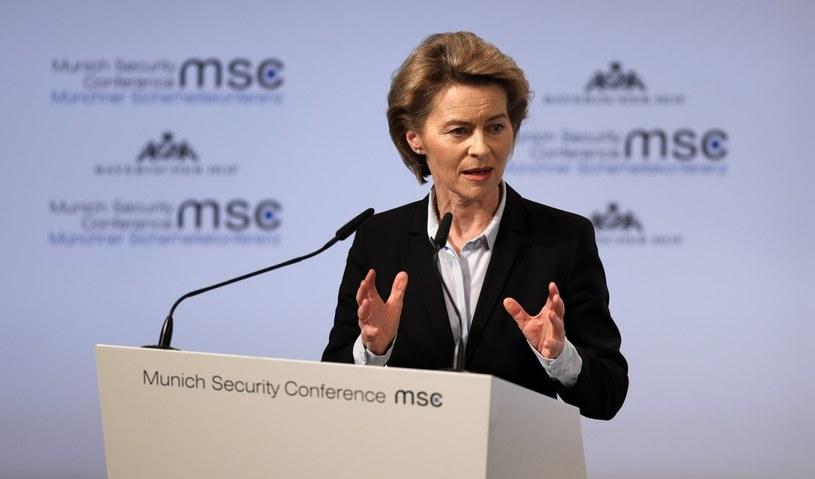 Ursula von der Leyen /RONALD WITTEK /PAP/EPA
