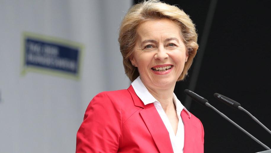 Ursula von der Leyen /FOCKE STRANGMANN /PAP/EPA