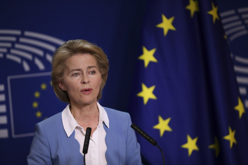 Ursula von der Leyen /Associated Press /East News