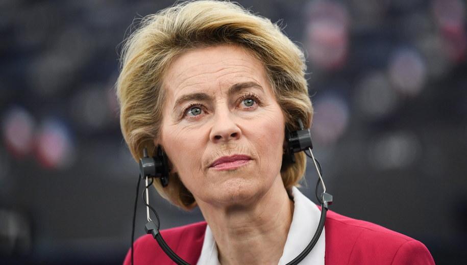Ursula von der Leyen /Patrick Seeger  /PAP/EPA
