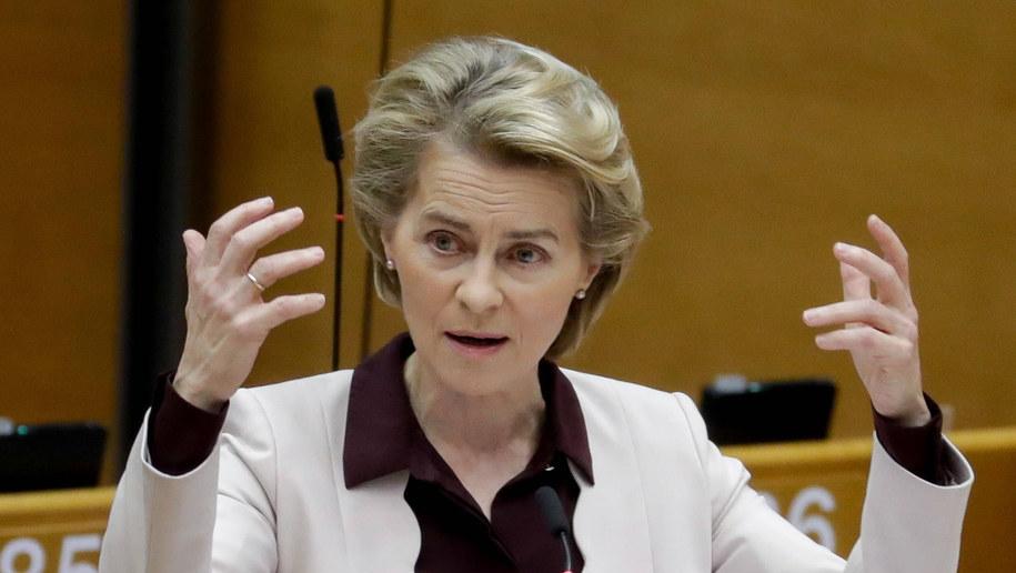 Ursula von der Leyen /STEPHANIE LECOCQ  /PAP/EPA