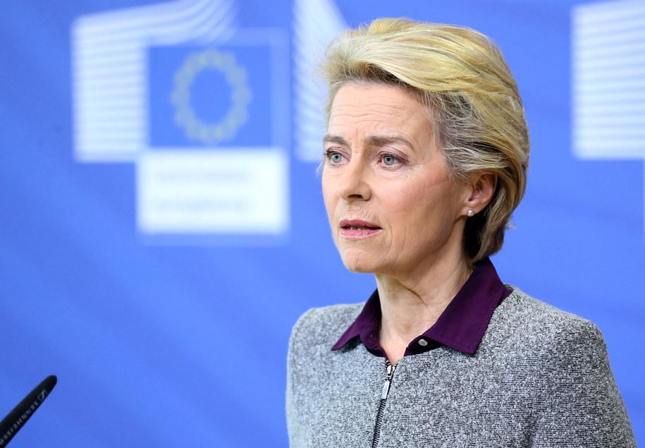 Ursula von der Leyen /FRANCOIS WALSCHAERTS / POOL /PAP/EPA