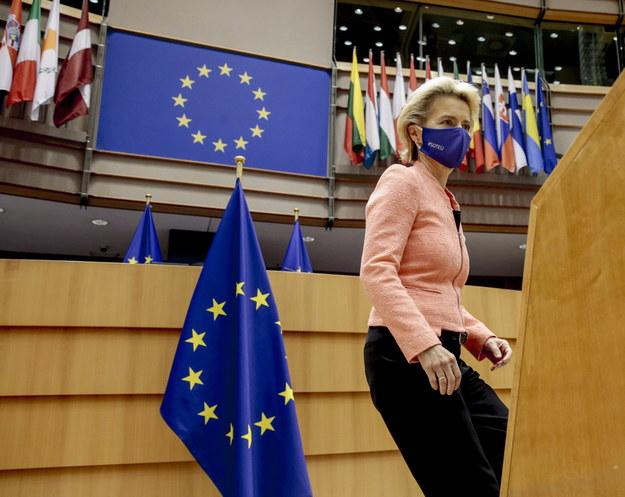 Ursula Von Der Leyen /OLIVIER HOSLET /PAP/EPA