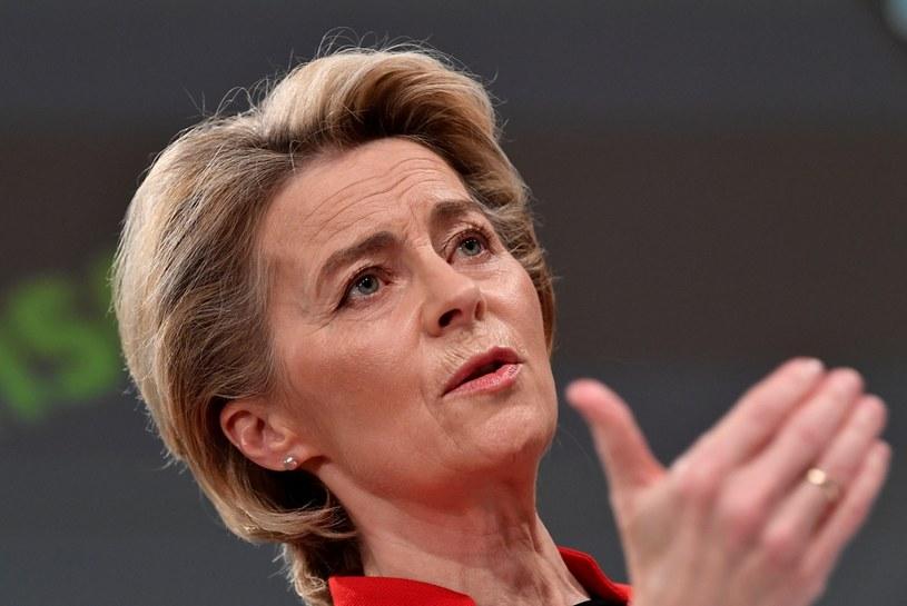 Ursula von der Leyen /JOHN THYS/POOL /AFP