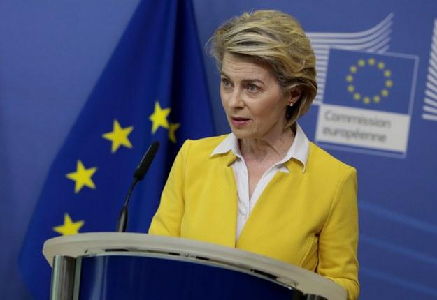 Ursula von der Leyen /Virginia Mayo / POOL / AFP /PAP/EPA