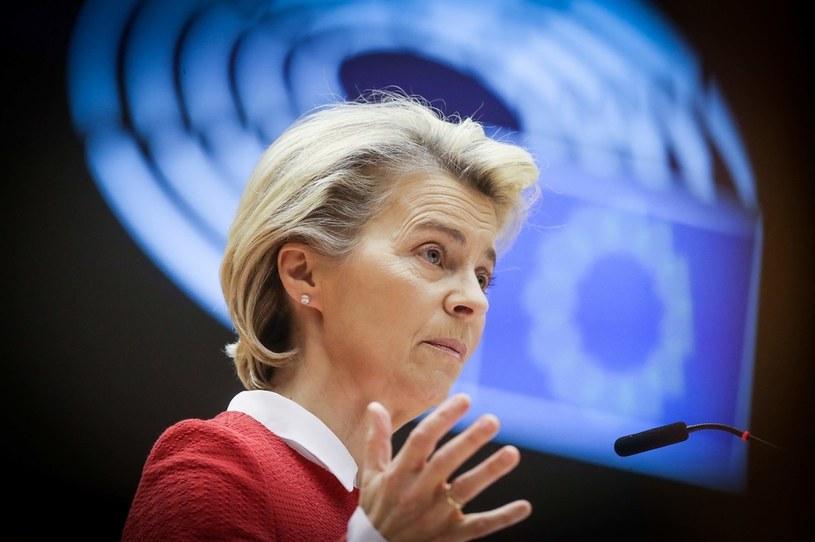 Ursula von der Leyen /OLIVIER HOSLET / POOL /AFP