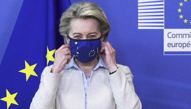 Ursula von der Leyen /YVES HERMAN / POOL /PAP/EPA