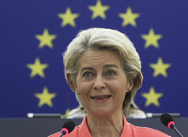 Ursula von der Leyen /Yves Herman /PAP/EPA