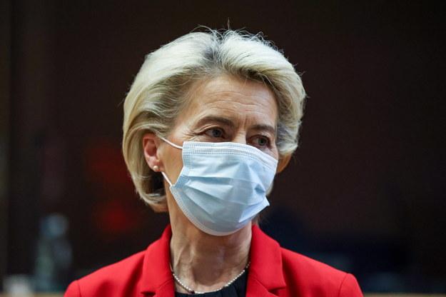 Ursula von der Leyen /ARIS OIKONOMOU/POOL /PAP/EPA