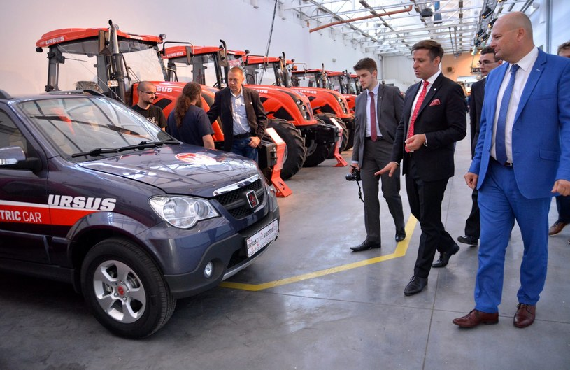 Ursus Demo Electric Car /ANNA KURKIEWICZ/ POLSKAPRESSE /East News