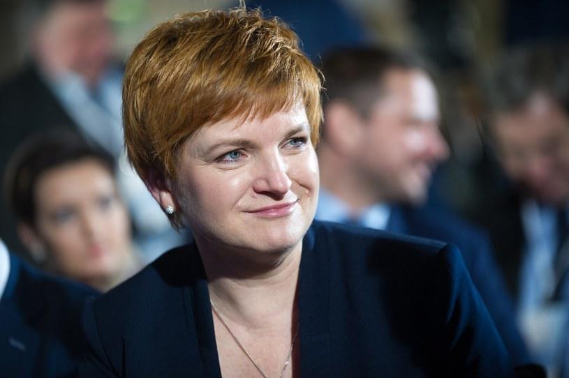 Urszula Augustyn - minister edukacji w gabinecie cieni /Bartosz Krupa /East News