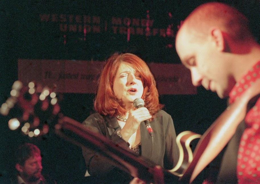 Urszula Dudziak i Marek Napiórkowski na zdjęciu z 1998 roku /CAF/Jacek Turczyk /PAP