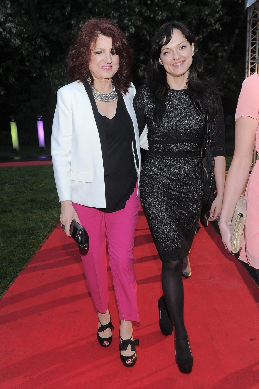 Urszula Dudziak z córką Kasią /Tricolors /East News