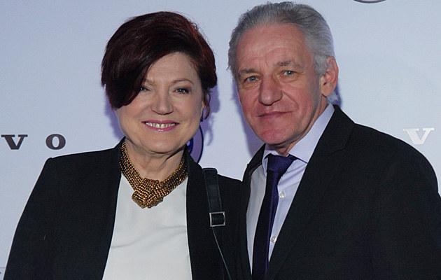 Urszula Dudziak z nowym partnerem, Bogdanem /Marek Ulatowski /MWMedia