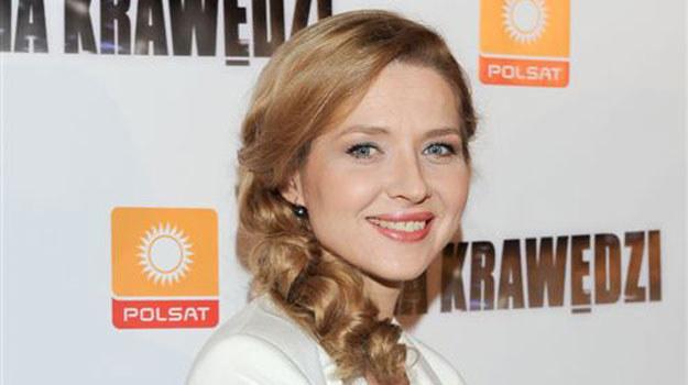 """Urszula Grabowska w """"Na krawędzi"""" wcieliła się w Martę Sajno /Agencja W. Impact"""