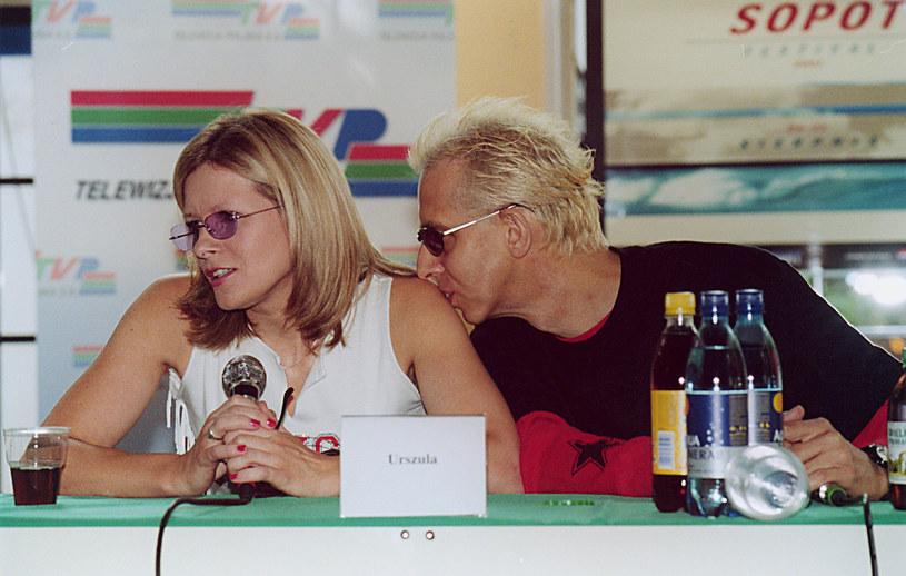Urszula i Stanisław Zybowski w 2001 r. /AKPA
