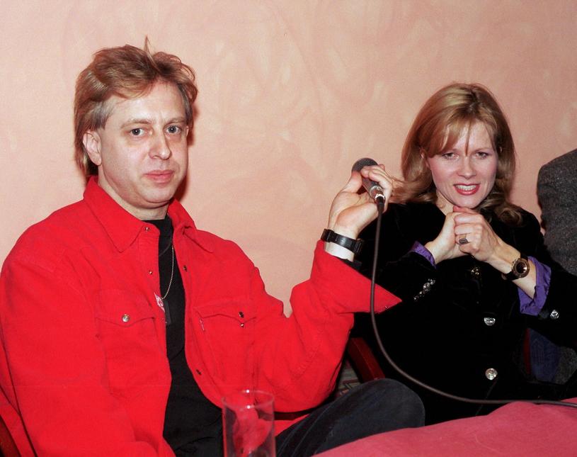 Urszula i Staszek Zybowski, 1996 r. /Włodarski/REPORTER /Reporter