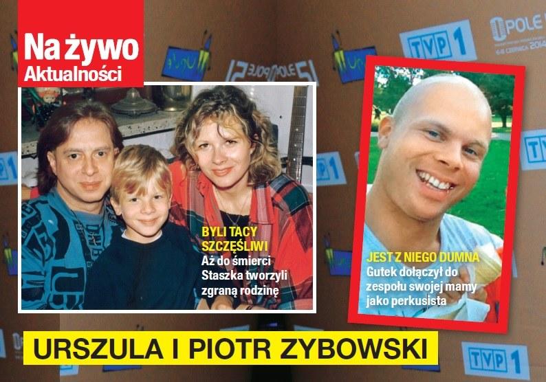 Urszula jest dumna z syna Piotra /Na żywo