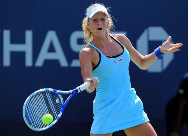 Urszula Radwańska dobrze radzi sobie w turnieju w Tokio /AFP