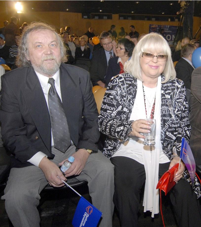 Urszula Sipińska z mężem /Marek Lapis /Agencja FORUM