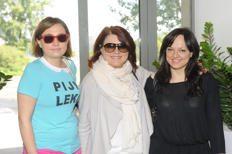 Urszula z córkami: Miką i Kasią /VIPHOTO /East News
